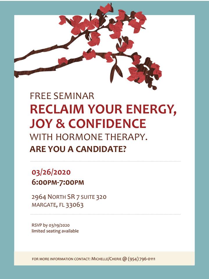 Reclaim Your Energy, Joy, & Confidence